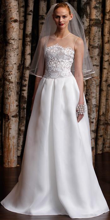Naeem Khan Spring 2015 Bridal
