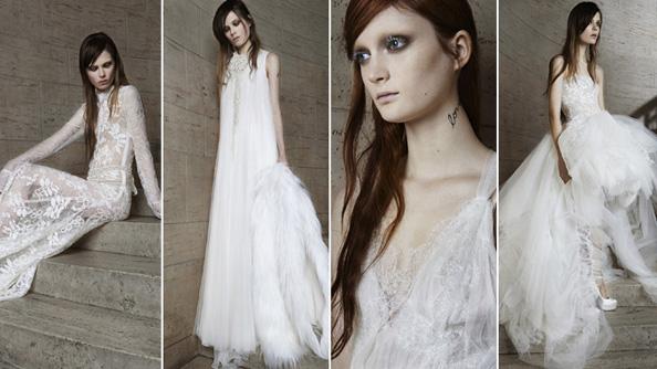 Vera Wang Spring 2015 Bridal