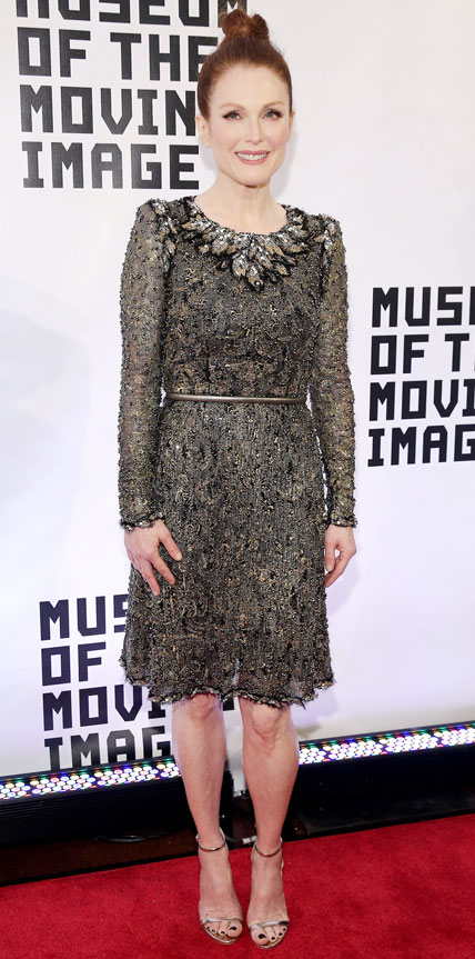 Julianne Moore in Chanel Couture  Hollywood and Fashion Style Stars - My 8 Best Dressed 1/25/2015