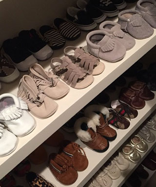 Kourtney Kardashian Shares Photo of Penelop Disick's Shoe Closet