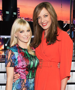 Anna Farris and Allison Janney