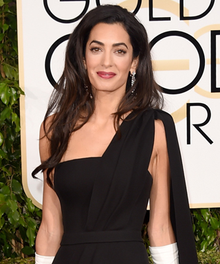 Amal Clooney at the 2015 Golden Globe Awards