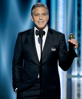 George Clooney at 2015 Golden Globe Awards