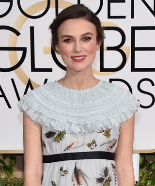 Keira Knightley at 2015 Golden Globes