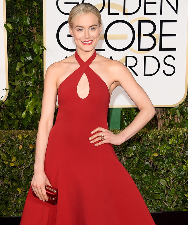 2015 Golden Globes: Red