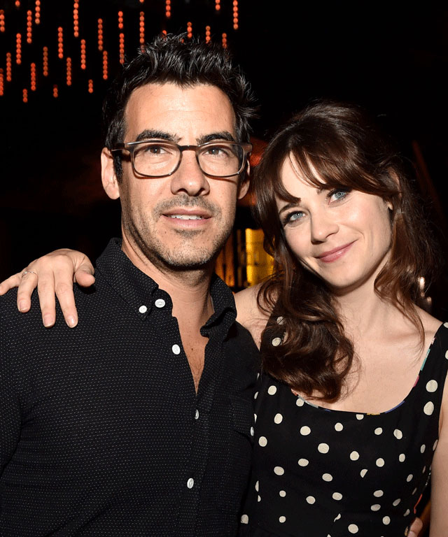 Zooey Deschanel is pregnant.