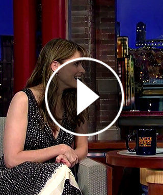 Amanda Peet David Letterman Parenting Stories The Late Show