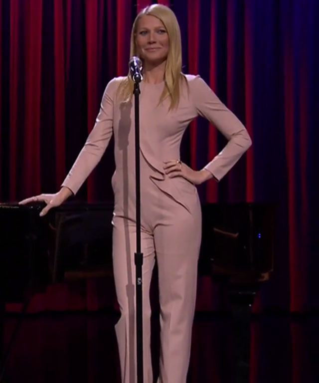 Gwyneth Paltrow Jimmy Fallon Broadway Rap