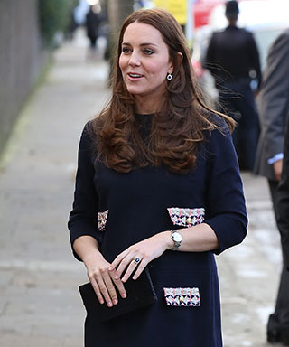 Kate Middleton pregnant in Madderson dress