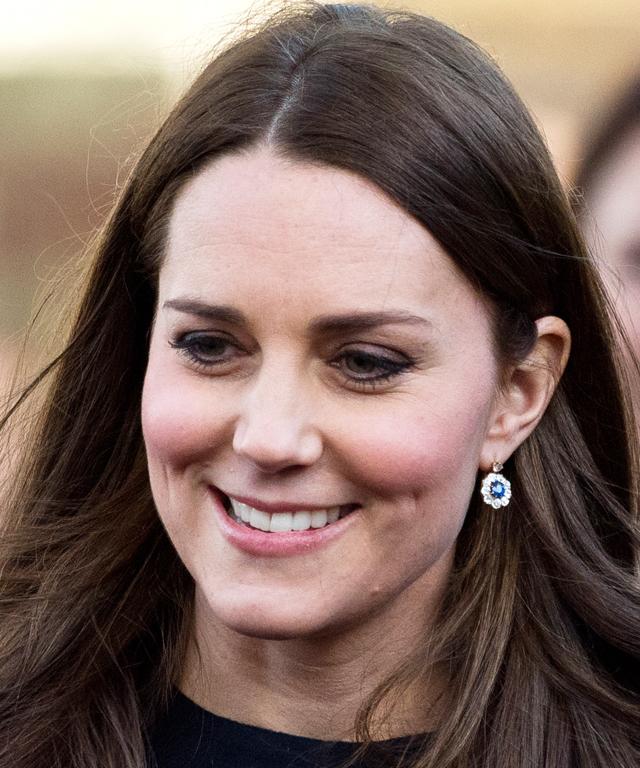 Kate Middleton's Sapphire Earrings