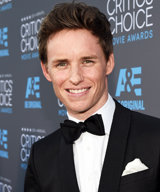 Eddie Redmayne at Critics' Choice Movie Awards