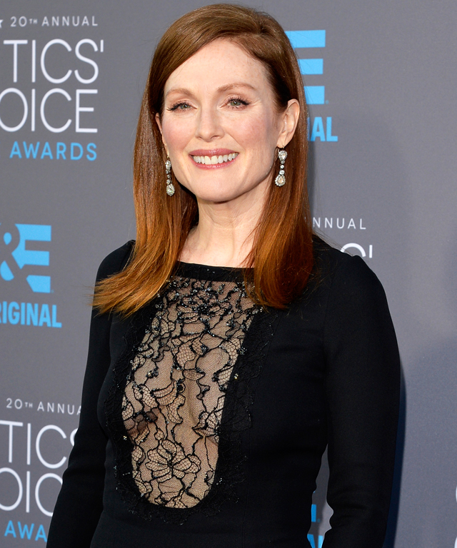 Julianne Moore at Critics' Choice Movie Awards