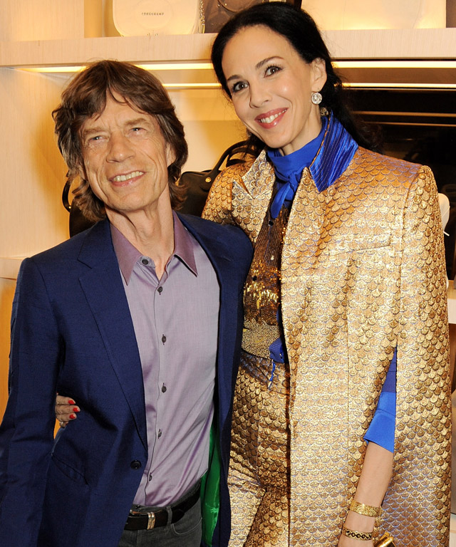 Mick Jagger endows fashion scholarship in memory of L'Wren Scott
