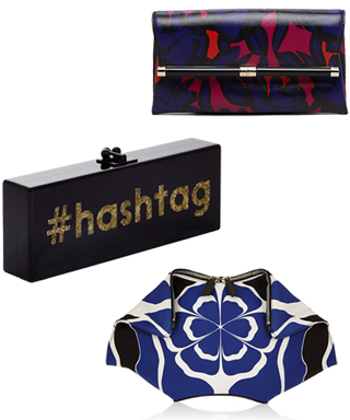 Bright Patterned Clutches