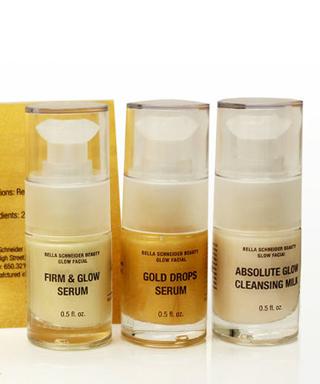 Gold Facial Kit - Bella Schneider Beauty