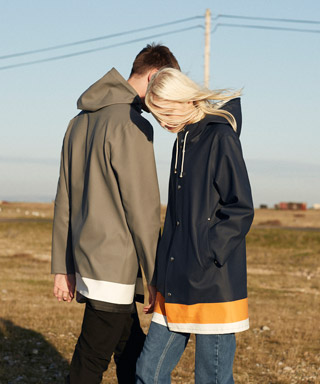 Whistles x Stutterheim Stockholm Collaboration