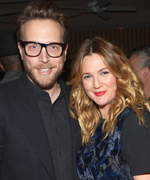 Ariel Foxman and Drew Barrymore at Fashion Los Angeles Awards