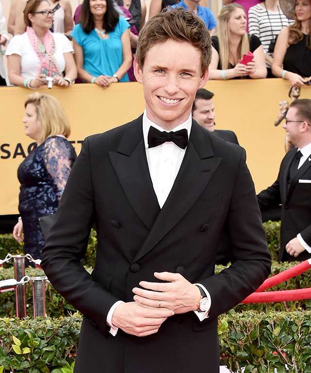 Eddie Redmayne at 2015 SAG Awards