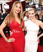 Sofia Vergara and Reese Witherspoon at 2015 SAG Awards