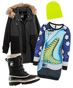 Snow Day Fashion