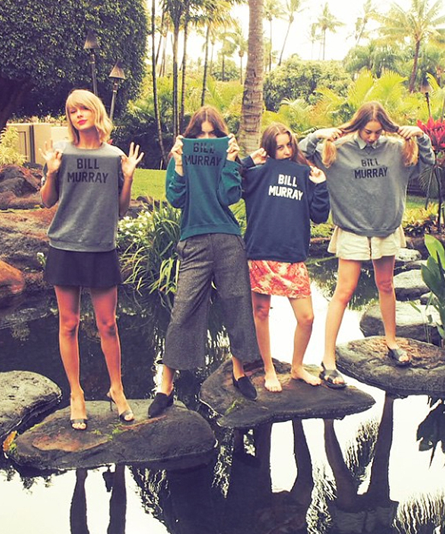 Taylor Swift and Haim