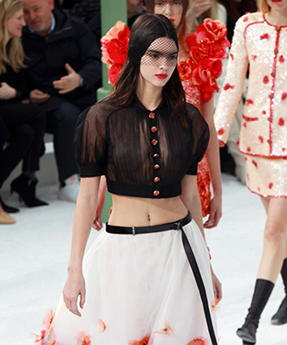 Kendall Jenner at Chanel Couture Spring 2015