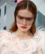 Veils at Couture Week