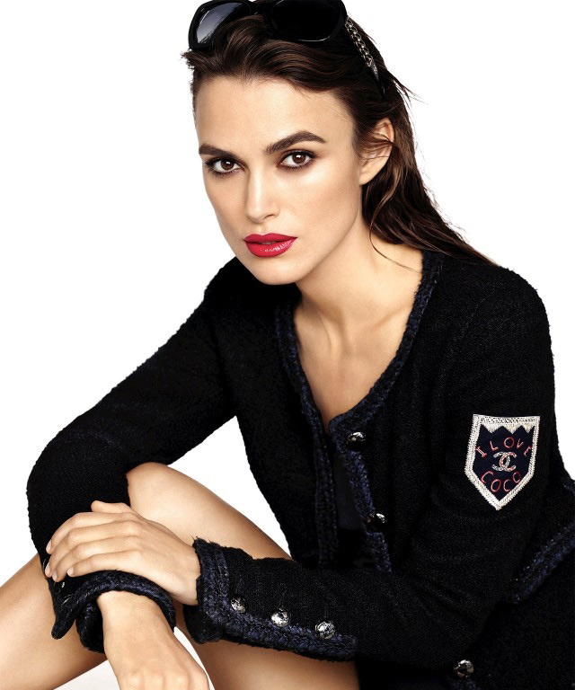 Keira Knightley in Chanel Rouge Coco Campaign