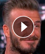 David Beckham Retirement Jimmy Kimmel