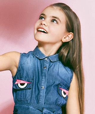 Fendi Kids SS 2015 Campaign
