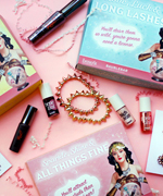 Benefit and BaubleBar gift boxes