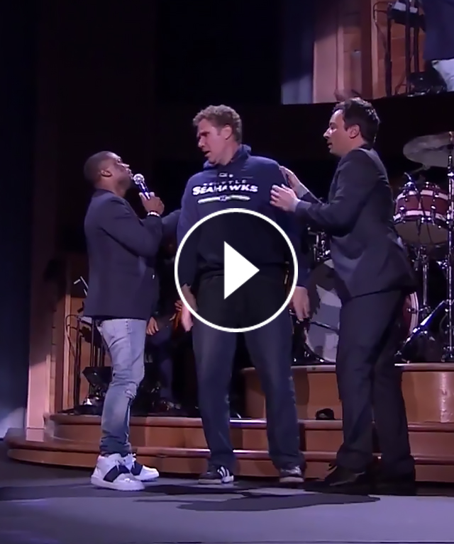 Will Ferrell Kevin Hart Jimmy Fallon Lip Sync