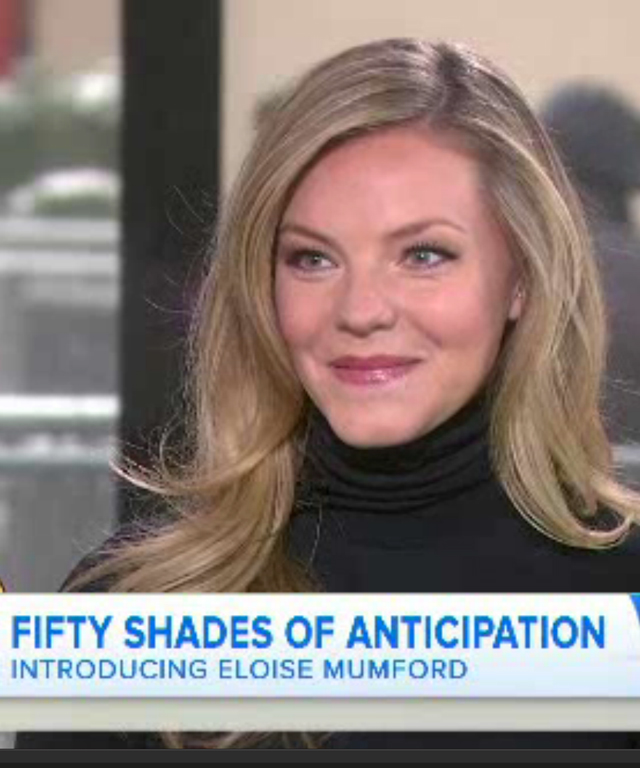 Eloise Mumford on the Today Show