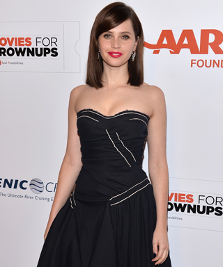 Felicity Jones at the AARP 14th Annual Movies For Grownups Awards Gala
