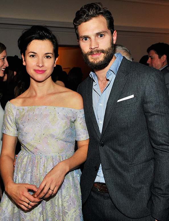 who is jamie dornan dating Despite his marriage to amelia warner, many believe that jamie dornan and his co-star dakota johnson are pushing the boundaries of their work relationship.