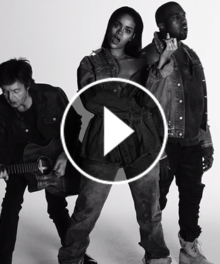 Rihanna Debuts Music Video for FourFiveSeconds with Kanye West and Paul McCartney