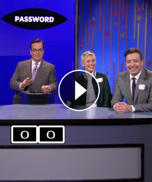 Reese Witherspoon Ellen DeGeneres Steve Carell Jimmy Fallon Tonight Show Password