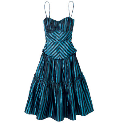 Betsey Johnson Stipe Dress
