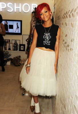 altTag= Rihanna Styles TopShop Winners in London