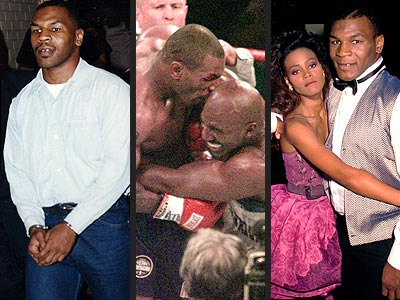 MIKE TYSON photo | Evander Holyfield, Mike Tyson, Robin Givens