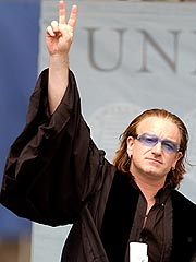 Bono Watches His Tongue | Bono