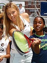 It's All 'Love' for Sharapova   Maria Sharapova