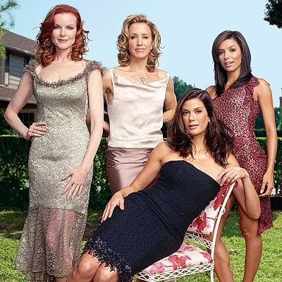 DESPERATE HOUSEWIVES photo | Eva Longoria, Felicity Huffman, Marcia Cross, Teri Hatcher