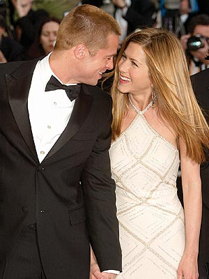 BRAD PITT &JENNIFER ANISTON photo | Brad Pitt, Jennifer Aniston