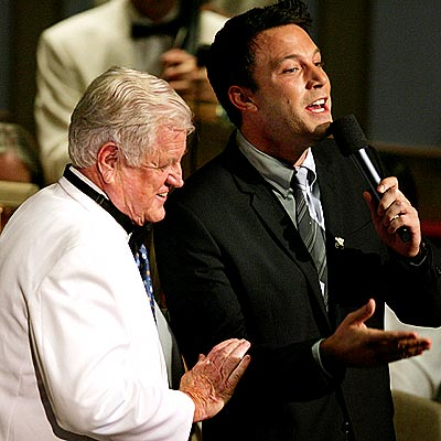 JULY 27  photo | Ben Affleck, Ted Kennedy