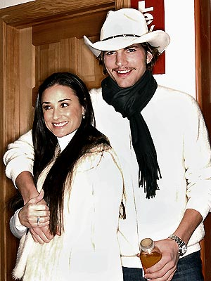 SUNDANCE SWEETIES  photo | Ashton Kutcher, Demi Moore