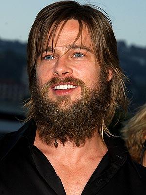 BAD HAIR DAY?  photo | Brad Pitt