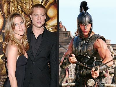 WARRIOR GOD photo | Brad Pitt, Jennifer Aniston