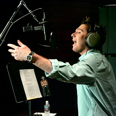 STUDIO MAGIC photo | Clay Aiken