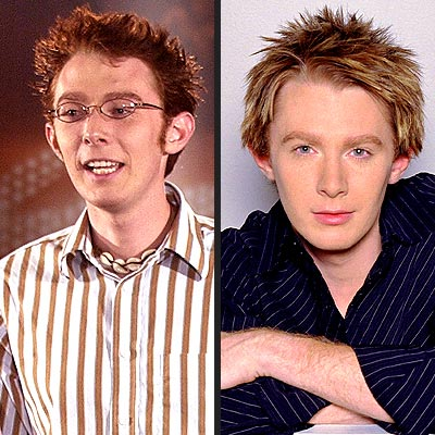 THEN & NOW  photo | Clay Aiken